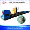 3 - Máquina de estaca do metal da tubulação do plasma dos machados