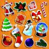 Подарок Стикер-Рождества (WY-SS03987)