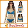 De vrouwen vormen het Mooie Donkerblauwe Sexy Zwempak van de Opdrukoefening (KS610303)