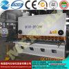 최신 CNC 공작 기계 유압 금속 격판덮개 깎는 기계 또는 장 절단기 25*2500mm