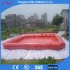 Piscine gonflable rouge pour le flotteur de syndicat de prix ferme de gosses