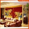 Zwei Drachen chinesisches Styel Öl Panitng für Hauptdekoration