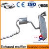 Silenziatore dello scarico di automobile dell'acciaio inossidabile 409 dalla fabbrica cinese