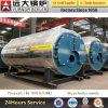 Prix industriel au fuel diesel de chaudière d'eau chaude de série de Wns