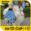 Balai professionnel de gant de toilettage de Deshedding d'animal familier
