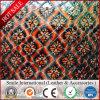 Кожа PVC синтетическая с выбивает для украшения мешков софы