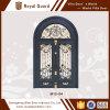 Porta principal/porta projetos modernos da porta principal/entrada dobro com travessão