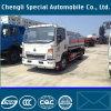 HOWO 9000litros 4X2 Caminhão de enchimento de combustível com movimentação manual esquerda
