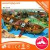 Equipamento ao ar livre de madeira do divertimento do campo de jogos das crianças para o fabricante