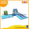 Ozean-Wasser-Park-kombiniertes aufblasbares mit Plättchen (AQ01732)