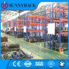 Cremalheira resistente da pálete do metal do armazenamento industrial de aço do armazém da fabricação Q235