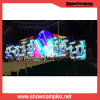 Showcomplex farbenreiche Video-Innenwand der Miete-LED