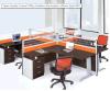 사무용 가구 중국 공급자 합판 제품 외침 센터 사무실 워크 스테이션 Fec 067