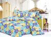 Reeks van het Blad van het Beddegoed van het Bed van Microfiber van de polyester de Duidelijke Geverfte Goedkope Vastgestelde