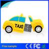 Estilo feito sob encomenda livre Pendrive do carro do táxi do PVC do logotipo