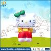 Aufblasbare Miezekatze-Karikatur, Kind-Spielzeug für fördernde Kampagne