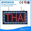 Muestra tailandesa de la protección del medio ambiente LED del rectángulo de Hidly