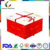 Mão elegante - caixa de empacotamento feita do cartão para o bolo