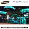 Visualización de LED de interior a todo color P4 para el alquiler, etapa, acontecimientos