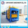 Machine de fabrication de brique complètement automatique hydraulique de bloc de couleur de cavité de la margelle Qt10-15