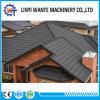 China-bunter Baumaterial-Stein-überzogene Metallschindel-Dach-Fliese