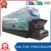 Chaudière à vapeur à chaînes industrielle d'essence de charbon de tube d'incendie de grille