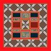 Cópia de Digitas para a tela de seda de 90*90cm para o lenço quadrado