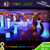 Color impermeable recargable Cambio Muebles boda LED