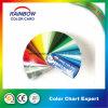 Gsb Color estándar Muestrario de brillo de la pintura del piso