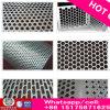Plaque perforée perforée / plaque perforée galvanisée / feuille perforée en acier inoxydable