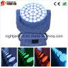 36*10W LEDのズームレンズのStage/DJ/Disco/Party/Wedding/Nightclub LEDの移動ヘッドライトのための移動ヘッド軽い洗浄ライトNj-L36D