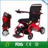 Sillón de ruedas plegable eléctrico portable llevado peso ligero estupendo de la potencia