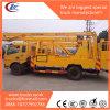 Dongfeng 높은 Earial 작업 플래트홈 물통 트럭