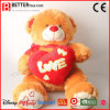 발렌타인 데이 선물 견면 벨벳 곰 박제 동물 연약한 장난감 곰 장난감