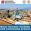 Het metallurgische Systeem van de Transportband van de Industrie Materiële