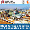 Sistema de transporte material da indústria metalúrgica