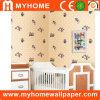 子供のための防水PVC寝室の壁紙