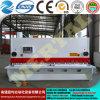 Подгонянная плиты гильотины механического инструмента CNC машина 12*3200mm гидровлической режа