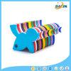 Kreativer Spielzeug-Großhandelsspecht-geformtes Lebensmittelklassenbaby-Dentition-Silikon Teether
