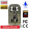 Großhandels12mp 1080P 12AA batteriebetriebene Nachtsicht-Jagd-Kamera