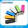플라스틱 USB 기억 장치 디스크 금속 회전대 USB 섬광 드라이브