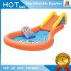 Diapositiva inflable del juego del agua del jardín de la familia con la piscina