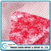 Paño de limpieza sin tejer de polipropileno rojo meltblown