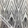tessuto del merletto del reticolo del Rhombus 100%Nylon