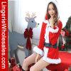 Взрослый рождество Санта с Costume клобука и пояса