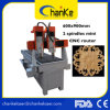 Il legno perfezionamento la falegnameria d'ottone della macchina di CNC del rame della mobilia