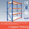 Estante 200-800 kilogramo Udl de la estantería del almacenaje del almacén de Longspan del metal/llano