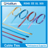 Multi SS Widerhaken-Kabelbinder der Selbst-Verschluss Kleber-überzogenen Strichleiter-in der Öl-und Gas-Industrie