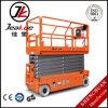plate-forme automotrice de travail aérien de levage électrique de ciseaux de 320kg13.8m