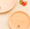 Color natural hermoso de madera el disco del estilo de la haya